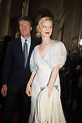 GREGORIO MARSIAJ; EVA HERZIGOVA, Dior presentation of the Cruise 2017 collection. Blenheim Palace, Woodstock. 31 May 2016