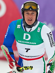 18.02.2011, Kandahar, Garmisch Partenkirchen, GER, FIS Alpin Ski WM 2011, GAP, Herren, Riesenslalom, im Bild Massimiliano Blardone (ITA) // Massimiliano Blardone (ITA) during men's Giant Slalom Fis Alpine Ski World Championships in Garmisch Partenkirchen, Germany on 18/2/2011. EXPA Pictures © 2011, PhotoCredit: EXPA/ J. Groder