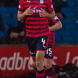 #4 Steven Caulker (Dundee) - Kilmarnock v Dundee - Ladbrokes Premiership - 13 February 2018 - © Russel Hutcheson   SportPix.org.uk