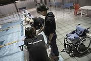 Team allenatori-Natural born swimmers-nuotatori disabili, Milano, 2014