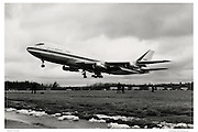 Pan Am 747 first flight