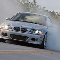 Active Autoworks BMW doing a burnout Client European Car Magazine