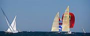 12 Meter Class centennial racing in Valencia