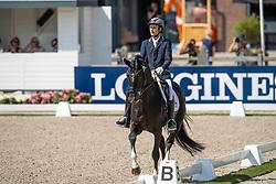 Sharangovich Evgeny, RUS, Impressive<br /> World ChampionshipsYoung Dressage Horses<br /> Ermelo 2018<br /> © Hippo Foto - Dirk Caremans<br /> 02/08/2018