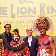 NLD/Amsterdam/20160216 - Musical The Lion King is terug!, producent Albert Verlinde, Stephen Crock