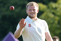 Joe Joyce of Bristol Rugby during an exhibition cricket game against Bishopston CC - Photo mandatory by-line: Dougie Allward/JMP - Mobile: 07966 386802 - 29/07/2015 - SPORT - Cricket - Bristol - Westbury Fields - Bishopston CC v Bristol Rugby - Exhibition Game
