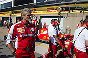 June 5-7, 2015: Canadian Grand Prix: Maurizio Arrivabene, team principal of Scuderia Ferrari