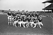 National League Semi-FInal, Galway v Waterford. Galway Team..07.04.1963