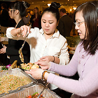Tina, Yuki and Jean, serving up food from Mai Pearl at Flavors 2011