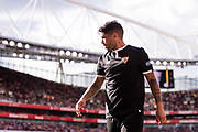Sevilla forward Ever Benega (10) during the Emirates Cup 2017 match between Arsenal and Sevilla at the Emirates Stadium, London, England on 30 July 2017. Photo by Sebastian Frej.