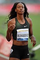 Dalilah MUHAMMAD USA 400m Hurdles Women <br /> Roma 31-05-2018 Stadio Olimpico  <br /> Iaaf Diamond League Golden Gala <br /> Athletic Meeting <br /> Foto Andrea Staccioli/Insidefoto