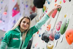 Lana Skusek at press conference #SlovenijaPleza 2018 of Slovenia climbing team, on April 9, 2018 in Plezalni center Ljubljana, Ljubljana, Slovenia. Photo by Urban Urbanc / Sportida