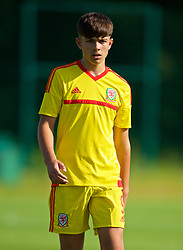 WREXHAM, WALES - Monday, July 22, 2019: Jasper Jones of South during the Welsh Football Trust Cymru Cup 2019 at Colliers Park. (Pic by Paul Greenwood/Propaganda)