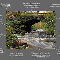 How to take better river photography images - a free photo tip cheat sheet ready for download.