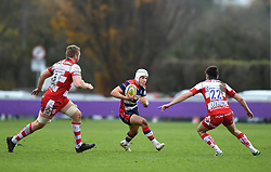 Iwan Hughes of Bristol United - Mandatory by-line: Paul Knight/JMP - 18/11/2017 - RUGBY - Clifton RFC - Bristol, England - Bristol United v Gloucester United - Aviva A League