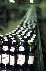 CZECH REPUBLIC BOHEMIA PRAGUE JUL97 - The botteling line of the Staropramen brewery in Prague.  . . jre/Photo by Jiri Rezac. . © Jiri Rezac 1997. . Tel:   +44 (0) 7050 110 417. Email: jiri@jirirezac.com. Web:   www.jirirezac.com