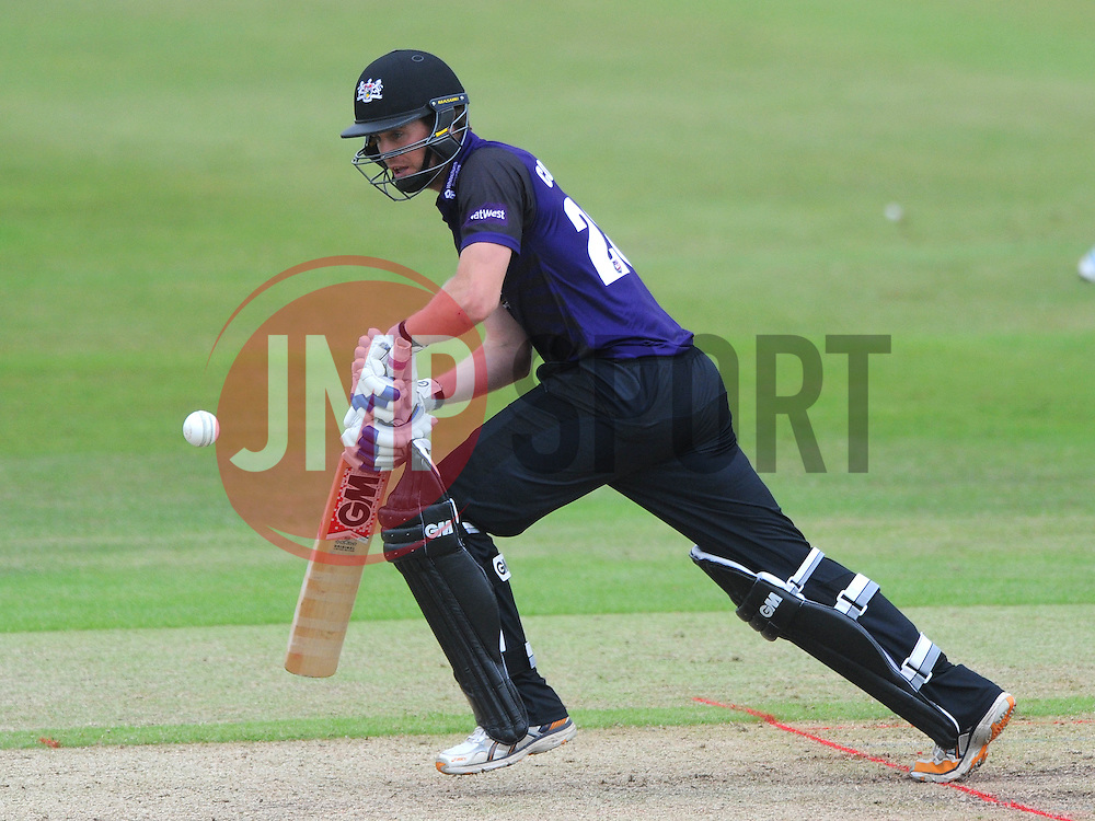 Ian Cockbain of Gloucestershire  - Photo mandatory by-line: Dougie Allward/JMP - Mobile: 07966 386802 - 14/07/2015 - SPORT - Cricket - Cheltenham - Cheltenham College - Natwest T20 Blast