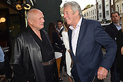 STEPHEN BERKOFF; BILL WIGGINS, Sod the Bitches, Stephen Berkoff book launch. aunch.  272 Brompton Road, London. 11 May 2015