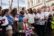 Pro-European march tto demand a People's Vote on the final Brexit deal. London. 23 June 2018