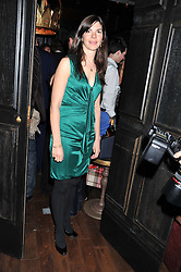 LAURA LOPES sister of Harry Lopes and EDWARD TAYLOR at the launch of the Johnnie Walker Blue Label Club held at The Scotch, Mason's Yard, London on 1st May 2012.