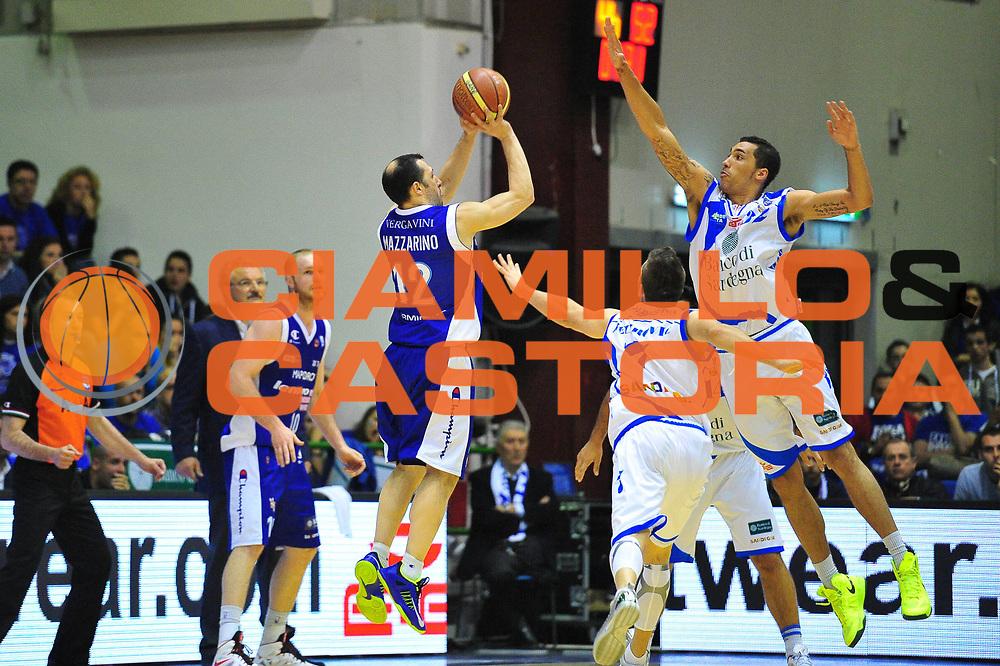 DESCRIZIONE : Sassari Lega A 2012-13 Dinamo Sassari Lenovo Cant&ugrave; Quarti di finale Play Off gara 2<br /> GIOCATORE : Nicolas Mazzarino<br /> CATEGORIA : Tiro<br /> SQUADRA : Lenovo Cant&ugrave;<br /> EVENTO : Campionato Lega A 2012-2013 Quarti di finale Play Off gara 2<br /> GARA : Dinamo Sassari Lenovo Cant&ugrave; Quarti di finale Play Off gara 2<br /> DATA : 11/05/2013<br /> SPORT : Pallacanestro <br /> AUTORE : Agenzia Ciamillo-Castoria/M.Turrini<br /> Galleria : Lega Basket A 2012-2013  <br /> Fotonotizia : Sassari Lega A 2012-13 Dinamo Sassari Lenovo Cant&ugrave; Play Off Gara 2<br /> Predefinita :