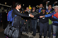 FOOTBALL - FIFA WORLD CUP 2010 - MISCS - GROUP A - TEAM'S PLAYERS FRANCE LEAVE SOUTH AFRICA AFTER THEIR WORLD CUP'S ELIMINATION - 22/06/2010 - YOAN GOURCUFF<br /> PHOTO FRANCK FAUGERE / DPPI