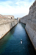 Muralla Real historic fortress Ceuta Spanish territory in north Africa, Spain
