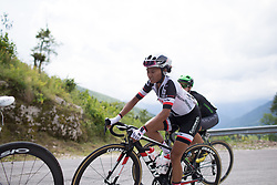 Coryn Rivera (USA) of Team Sunweb rides  the day's main climb of  Stage 2 of the Giro Rosa - a 122.2 km road race, between Zoppola and Montereale Valcellina on July 1, 2017, in Pordenone, Italy. (Photo by Balint Hamvas/Velofocus.com)