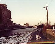 Old Dublin Amature Photos February 1984 WITH, Brian Boru Pub, Cross Guns Bridge, Ranks Mill, Shandon Park Mills, Drumcondra, Whitehall, Rd, Rathoath Finglas, Sign Post, TV Picture Portugal, Gratton Motors, Blue Hous, Mrs Cleary, Fogertys Pub, Mount St,