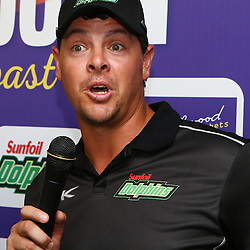 Durban South Africa -  December 3, Robbie Frylinck  during the joint announcement by Hollywoodbets, Cell C, the Sunfoil Dolphins and the Cell C Sharks at the President Suite at Sahara Stadium Kingsmead.Sahara Stadium Kingsmead (Photo by Steve Haag)images for social media must have consent from Steve Haag
