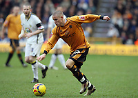 Photo: Rich Eaton.<br /> <br /> Wolverhampton Wanderers v Leeds United. Coca Cola Championship. 24/02/2007. Michael Kightly of Wolves who scored the only goal of the game