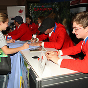 2007 Pan Am Silver Medal Team signing at the 2007 Royal Agricultural Winter Fair in Toronto, Ontario.