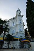 Outside view of Admiral Casino, Opatija, Croatia