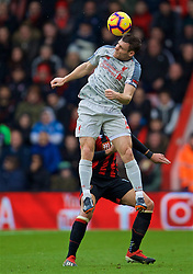 BOURNEMOUTH, ENGLAND - Saturday, December 8, 2018: Liverpool's captain James Milner during the FA Premier League match between AFC Bournemouth and Liverpool FC at the Vitality Stadium. (Pic by David Rawcliffe/Propaganda)