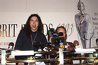 The BRIT Awards Launch 1993 <br /> Monday 11 Jan 1993.<br /> The Hard Rock Cafe, London, England<br /> Photo: JM Enternational