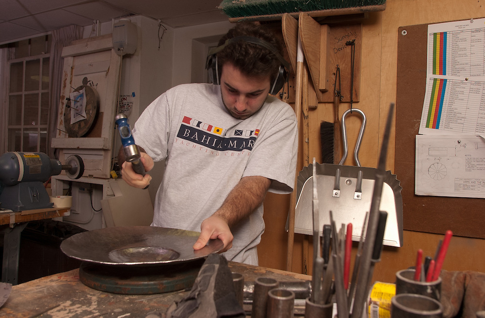 16711Tom Fiocchi's Prop Shop: Students Metal Working Class