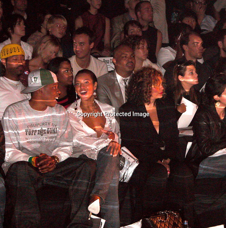 Jay-Z &amp; Beyonce Knowles with Tina Knowles<br />