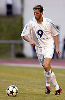 FOTBALL - SEASON 2003/2004 - FRIENDLY GAME - OLYMPIQUE DE MARSEILLE v SERVETTE GENEVE - 030702 - STEPAN VACHOUSEK (OM) - PHOTO PHILIPPE LAURENSON / DIGITALSPORT