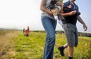Nederland, Ooij, 20-9-2009In de Ooijpolder zijn wandelroutes uitgezet die over het land van boeren loopt.Foto: Flip Franssen/Hollandse Hoogte