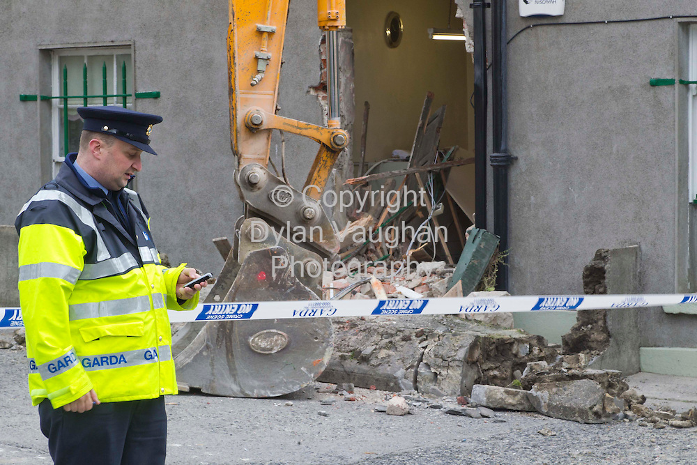 5/10/2011.The scene of the Post Office robbery in Castlecomer County Kilkenny..Picture Dylan Vaughan.