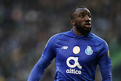 January 12, 2019 - Lisbon, Portugal - Moussa Marega of Porto  in action  during Primeira Liga 2018/19 match between Sporting CP vs FC Porto, in Lisbon, on January 12, 2019. (Credit Image: © Carlos Palma/NurPhoto via ZUMA Press)