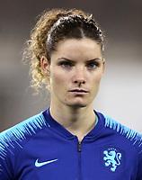 International Women's Fifa Play Off Matchs 2018 - 2 Leg / <br /> Switzerland v Netherlands 1-1 ( LIPO Park Stadium - Schaffhausen ,Switzerland ) - <br /> Dominique Johanna Anna Bloodworth Janssen of Netherlands