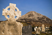 Errigal Mt, the highest of all the Donegal.