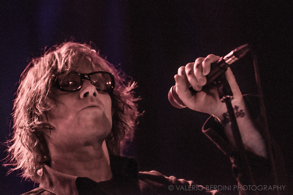 Mark Lanegan with his band live at the Junction in Cambridge