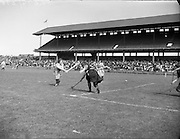 Camogie - All Ireland Senior Final at Croke Park - Dublin vs. Tipperary. Dublin are victorious..02/08/1953