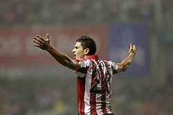 25.09.2010, San Mames, Bilbao, ESP, Primera Division, Athletic Bilbao vs FC Barcelona, im Bild Atletic de Bilbao's Igor Martinez during La Liga match. EXPA Pictures © 2010, PhotoCredit: EXPA/ Alterphotos/ Acero +++++ ATTENTION - OUT OF SPAIN / ESP +++++