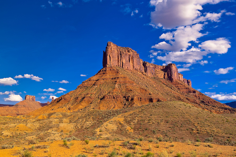 Along Utah State Route 128 (Upper Colorado River Scenic Byway), near Moab, Utah, USA