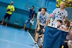 Branko Tamse, head coach of RK Celje Pivovarna Lasko during handball match between RK Celje Pivovarna Lasko vs RK Gorenje Velenje of Super Cup 2015, on August 29, 2015 in SRC Marina, Portoroz / Portorose, Slovenia. Photo by Urban Urbanc / Sportida