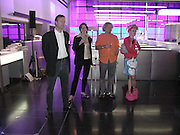 Inauguration of  Gary Hill's Han D Hear D, Science Museum  Wellcome Wing. 15 June 2001. , © Copyright Photograph by Dafydd Jones 66 Stockwell Park Rd. London SW9 0DA Tel 020 7733 0108 www.dafjones.com