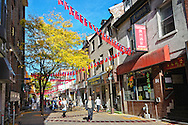 Chinatown in Montreal, Quebec, Canada
